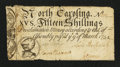 Colonial Notes:North Carolina, North Carolina March 9, 1754 15s Fine-Very Fine.. ...