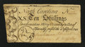 Colonial Notes:North Carolina, North Carolina April 4, 1748 10s Very Fine.. ...