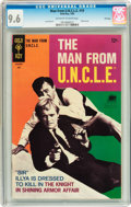 Silver Age (1956-1969):Adventure, Man from U.N.C.L.E. #19 File Copy (Gold Key, 1968) CGC NM+ 9.6 Off-white to white pages....