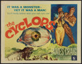 """Movie Posters:Horror, The Cyclops (Allied Artists, 1957). Half Sheet (22"""" X 28""""). Horror.. ..."""