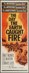 "Movie Posters:Science Fiction, The Day the Earth Caught Fire (Universal, 1962). Insert (14"" X36""). Science Fiction.. ..."