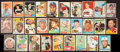 Baseball Cards:Autographs, Baseball Greats Signed Vintage Cards Lot of 29....
