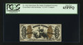 Fractional Currency:Third Issue, Fr. 1362 50¢ Third Issue Justice PCGS Gem New 65PPQ.. ...