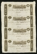 Obsoletes By State:Ohio, Cincinnati, (OH)- Unknown Issuer $5-$3-$2-$1 Uncut Sheet PostNotes. ...