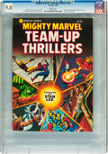 Books:Superhero, Mighty Marvel Team-Up Thrillers #nn (Marvel/Fireside, 1983) CGCVF/NM 9.0 White pages....