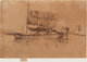 JAMES ABBOTT MCNEILL WHISTLER (American, 1834-1903) Fishing Boat (From the Second Venice Set), 1879-1880 Etching Sign