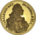German States:Bavaria, German States: Bavaria. Gold medal 1979, struck in the design ofthe 1739 Taler Hahn-249, .900 fine, 29.02 gm, Cameo Proof.. Fromthe Blu...