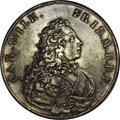Germany:Brandenburg-Ansbach, Germany: Brandenburg-Ansbach. Karl Wilhelm Friedrich Taler 1732,KM184, Dav-1982, VF-XF details. Unfortunately, it appears thatmount...