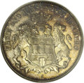 German States:Hamburg, German States: Hamburg. Free City 3 Mark 1913J, KM296, Proof 66 NGC. Sharply struck with no significant imperfections and toned in mottled ...