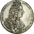 German States:Lippe-Detmold, German States: Lippe Detmold. Simon Heinrich Adolph 2/3 Taler1719LHL, KM159, Dav-619, about XF with questionable weakness in thereeding o...