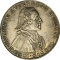 German States:Passau, German States: Passau. Joseph Franz Anton Taler 1792, KM-C10,Dav-2526, Choice XF with even gray patina, one minor rim bump, andedge flaw....