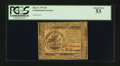 Colonial Notes:Continental Congress Issues, Continental Currency May 9, 1776 $5 PCGS About New 53.. ...