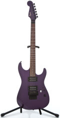 Musical Instruments:Electric Guitars, Recent Squire Fender Stagemaster Purple Metallic Solid Body Electric Guitar #CY00104069...