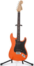Musical Instruments:Electric Guitars, 2002 Fender Stratocaster Orange Electric Guitar, # MZ2123629...