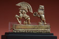 Antiques:Antiquities, Miniature Gold Dancer and Musician...