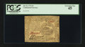 Colonial Notes:Continental Congress Issues, Continental Currency July 22, 1776 $4 PCGS Extremely Fine 45.. ...