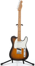 Musical Instruments:Electric Guitars, 2001 Fender Telecaster Sunburst Solid Body Electric Guitar#Z0146593...