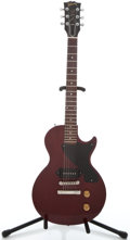 Musical Instruments:Electric Guitars, 1986 Gibson Les Paul Jr. Cherry Solid Body Electric Guitar#82546540...