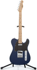 Musical Instruments:Electric Guitars, Fender Squire Telecaster Blue Solid Body Electric Guitar#CY00714094...