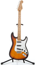 Musical Instruments:Acoustic Guitars, 1997 Fender California Stratocaster USA Sunburst Solid BodyElectric Guitar #AMXN731879...