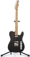 Musical Instruments:Electric Guitars, 1978-1981 Fender Telecaster Black Solid Body Electric Guitar#S848022...