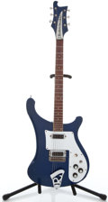 Musical Instruments:Electric Guitars, 1973 Rickenbacker 480 Blue Solid Body Electric Guitar #MJ5031...