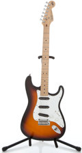Musical Instruments:Electric Guitars, 1994 Fender 40th Anniversary Stratocaster Sunburst Solid BodyElectric Guitar #N392953...