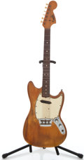 Musical Instruments:Electric Guitars, 1966 Fender Musicmaster II Refinished Solid Body Electric Guitar#124433...