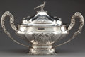 Silver Holloware, Continental:Holloware, A PEREZ SPANISH SILVER TUREEN WITH COVER . Fernandez Perez, Madrid,Spain, circa 1950. Marks: (star) J. PEREZ, F DEZ . 1...