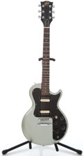Musical Instruments:Electric Guitars, 1981 Gibson Sonex-180 Deluxe Silver Solid Body Electric Guitar#82931718...