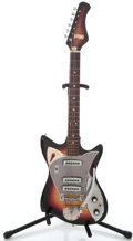 Musical Instruments:Electric Guitars, 1960's Victoria Project Sunburst Solid Body Electric Guitar ...
