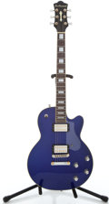 Musical Instruments:Electric Guitars, Recent DeArmond M Blue Solid Body Electric Guitar #KC01053851...