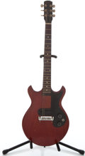Musical Instruments:Electric Guitars, 1965 Gibson Melody Maker Cherry Solid Body Electric Guitar #275496...
