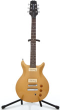 Musical Instruments:Electric Guitars, Recent Hamer A/T P90 Gold Top Solid Body Electric Guitar#6850574...