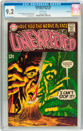 Silver Age (1956-1969):Horror, Unexpected #110 Savannah pedigree (DC, 1968) CGC NM- 9.2 Whitepages....