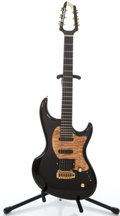 Musical Instruments:Electric Guitars, Recent MJ Roadster Black Solid Body Electric Guitar #Z080277E...