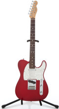Musical Instruments:Electric Guitars, 1997 Fender USA Telecaster Candy Apple Red Solid Body Electric Guitar #N7247334...