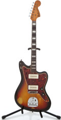 Musical Instruments:Electric Guitars, 1960's Fender Jazzmaster Sunburst Solid Body Electric Guitar#L97293...