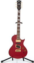Musical Instruments:Electric Guitars, 1997 Gibson Blues Hawk Trans Red Solid Body Electric Guitar#94047499...