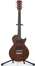 Musical Instruments:Electric Guitars, 1980 Gibson Firebrand The Paul Deluxe Mahogany Solid Body ElectricGuitar #82570513...