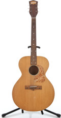 Musical Instruments:Acoustic Guitars, 1952 National Natural Acoustic Guitar #X9040...
