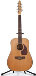 Musical Instruments:Acoustic Guitars, Fender Project Natural 12 String Acoustic Guitar #90737101...