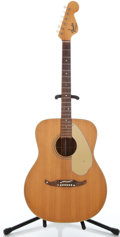Musical Instruments:Acoustic Guitars, 1960's Fender Palomino Natural Acoustic Guitar #23875...