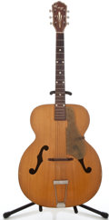 "Musical Instruments:Acoustic Guitars, 1940's Kay 17"" Natural Archtop Acoustic Guitar ..."