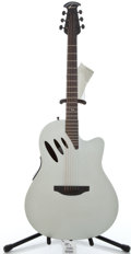 Musical Instruments:Acoustic Guitars, Ovation Celebrity CC 541 Silver Matte Acoustic Electric Guitar ...