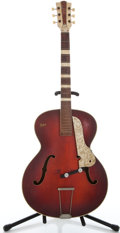 Musical Instruments:Acoustic Guitars, 1950's Hofner Project Red Archtop Acoustic Guitar ...