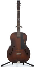 Musical Instruments:Acoustic Guitars, 1940's Kay Fiddle-Edge Sunburst Archtop Acoustic Guitar #05463...