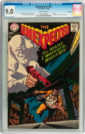 Silver Age (1956-1969):Horror, Unexpected #105 Savannah pedigree (DC, 1968) CGC VF/NM 9.0Off-white pages....