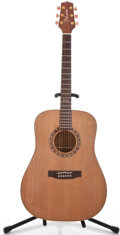 Musical Instruments:Acoustic Guitars, Takamine F-370 SSCD Koa Natural Acoustic Guitar #99041247...
