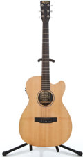 Musical Instruments:Acoustic Guitars, Martin 00CX-1AE Natural Acoustic Electric Guitar #1048757...